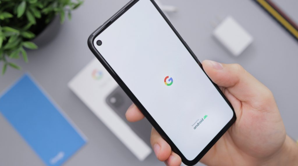 What is Google MUM - image showing an Android phone