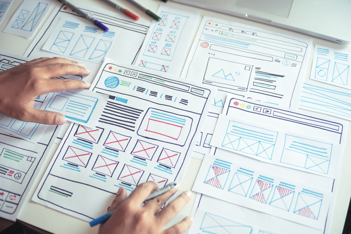 Picture showing UX design - UX writing tips