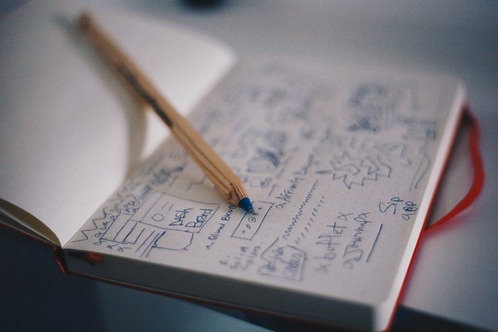 A UX designer's notebook