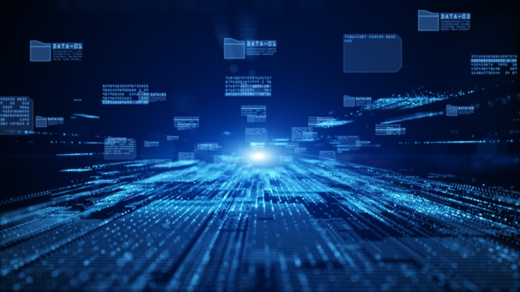 B2B personalization: Digital landscape showing data