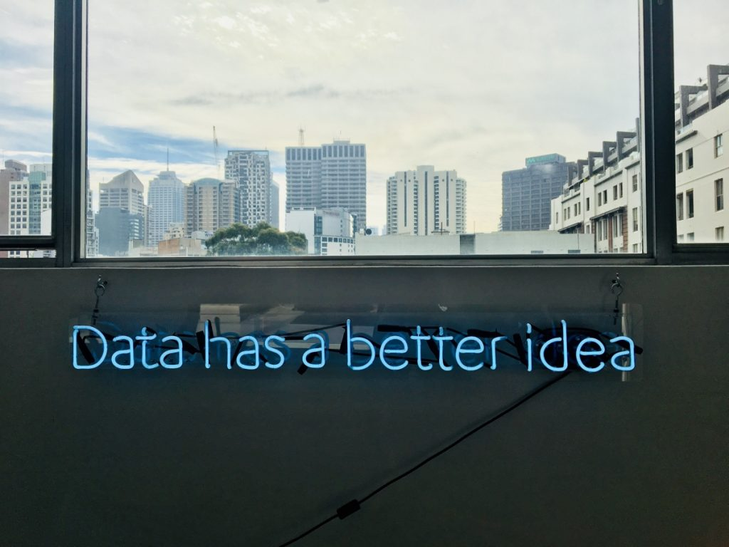 data has a better idea image, but it can lead to paralysis by analysis.