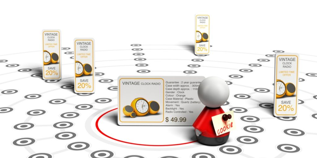 Image showing how remarketing works.