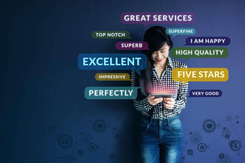 B2B and CLV - image showing customer feedback