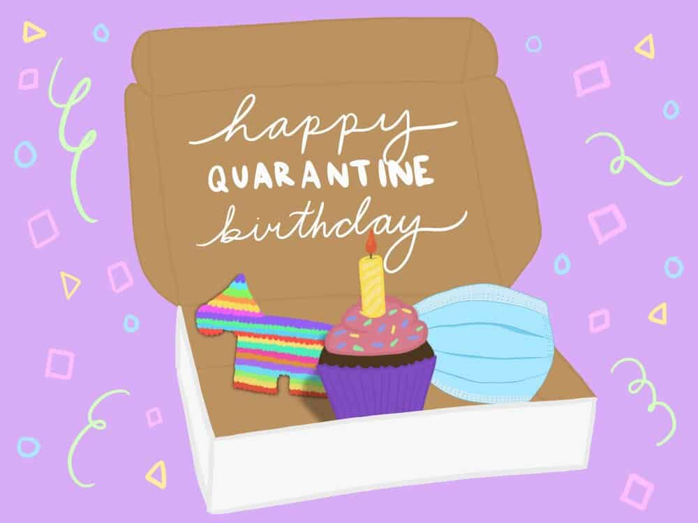 how to plan a virtual birthday  mashion