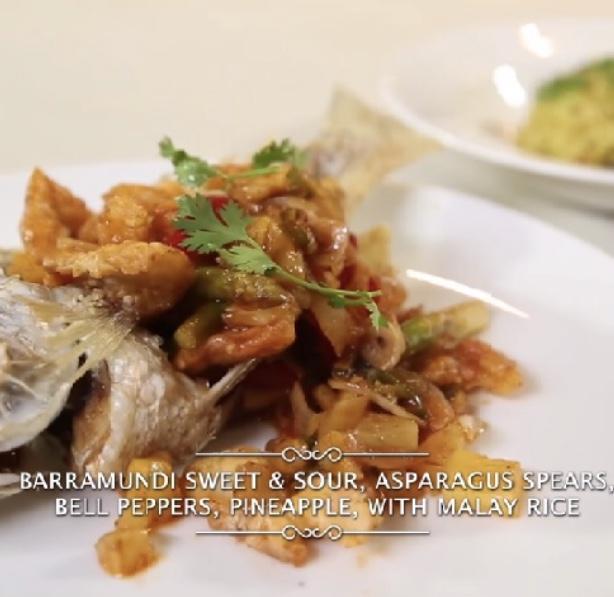 Learn To Make Barramundi Sweet & Sour Set Menu With Chef