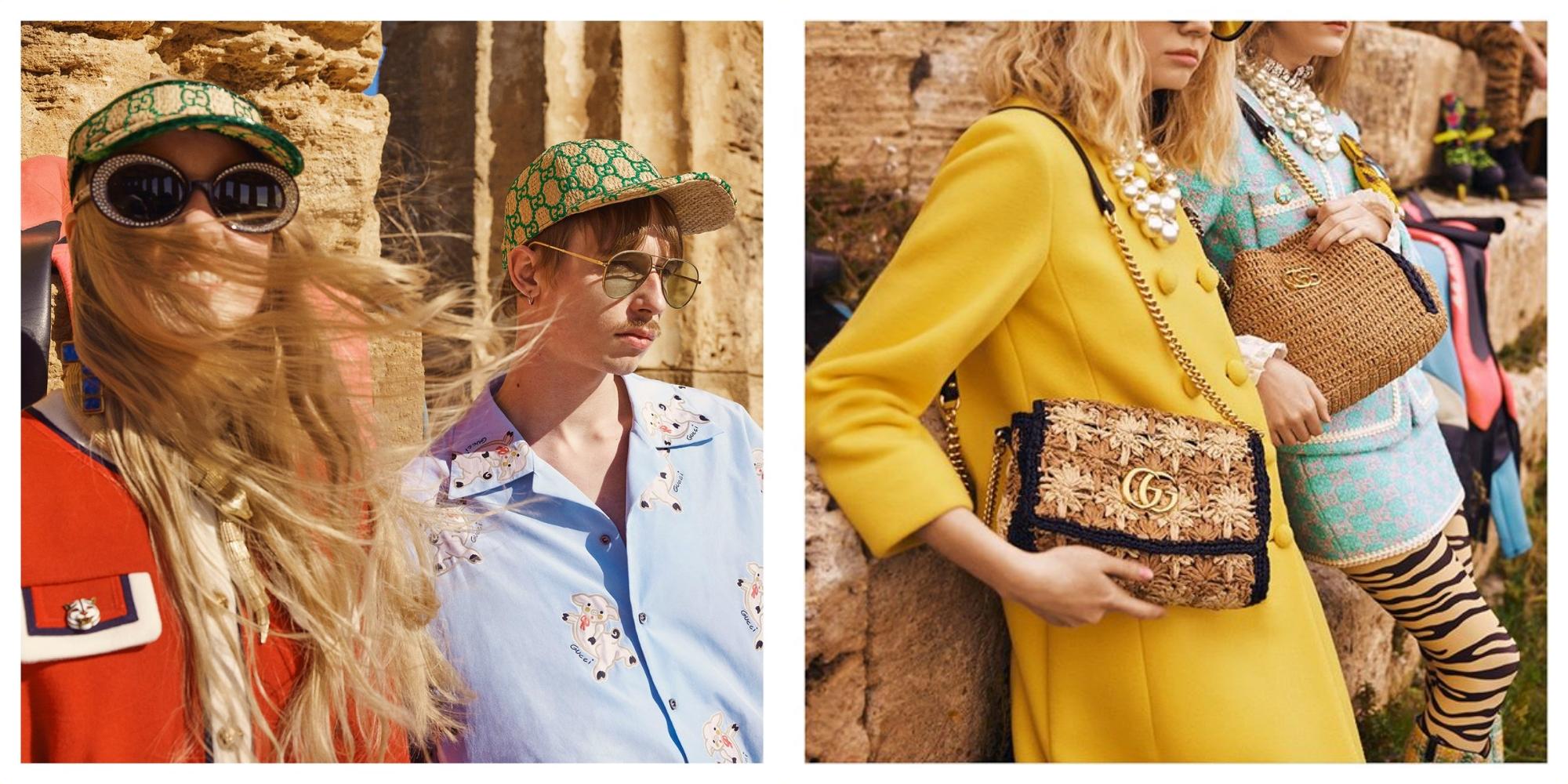 promo code 48b5f 9de29 Gucci也加入編織行列帶來充滿夏日感的草編單品!時尚博客搶著用 ...
