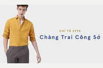 Thời trang công sở nam giá chỉ từ 299K