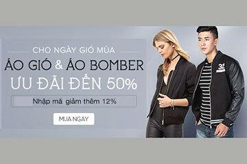 Giảm đến 50% cho áo gió và áo Bomber chỉ có tại Adayroi!