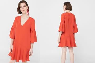 Đầm tay bèo Arco chính hãng Mango giảm 20% duy nhất trên Zalora