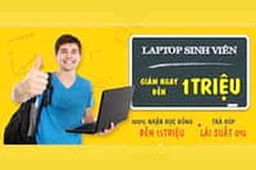 Viettel Store giảm ngay đến 1.000.000đ chi sinh viên khi mua Laptop