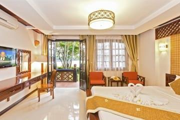 Phố Hội Riverside Resort Hội An giảm đến 43% giá phòng, tặng thêm 6% Tiền Hoàn Lại