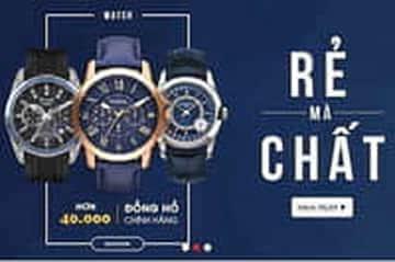 Mua đồng hồ chính hãng giá rẻ chỉ có tại Fado