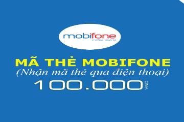 Mua mã thẻ Mobifone 100.000đ chỉ với giá 92.000đ