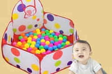 Nhận siêu khuyễn mãi từ Lazada khi mua Nhà bóng Multicolor cho bé yêu