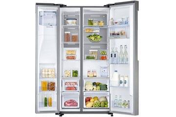 Tiết kiệm 10.910.000đ khi mua tủ lạnh AMSUNG SBS RS58K6667SL/SV