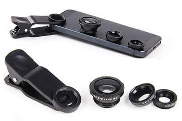 HotDeal giảm đến 46% bộ 3 len chụp hình cho điện thoại, máy tính