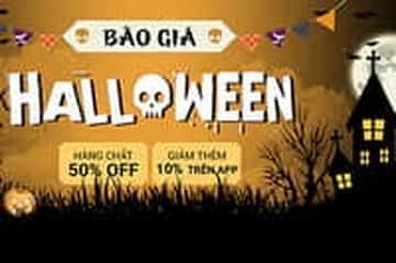 Halloween cực chất với Sendo - 50% OFF nhiều sản phẩm và giảm thêm 10% trên app
