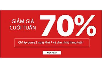Bigmua - Giảm giá cuối tuần 70%