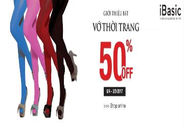 Bộ sưu tập Vớ thời trang cao cấp giảm 50%
