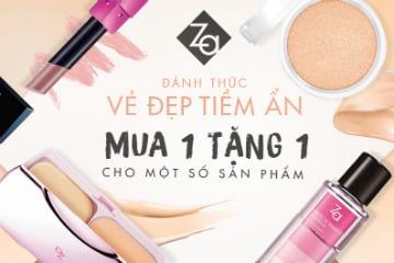 Mua 1 tặng 1 một số sản phẩm của mỹ phẩm Za Nhật Bản tại Lotte.vn
