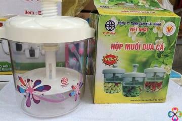 Hộp muối dưa cà Việt Nhật tiện ích với chỉ 135.000đ tại Bigmua