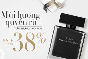 Giảm giá đến 38% nước hoa cao cấp chính hãng tại Lotte.vn