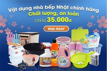 Vật dụng nhà bếp Nhật Bản chính hãng giá chỉ từ 35.000đ