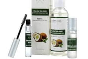 Giảm lớn cho Combo sản phẩm làm đẹp từ dừa: tinh dầu + Mascara + son dưỡng