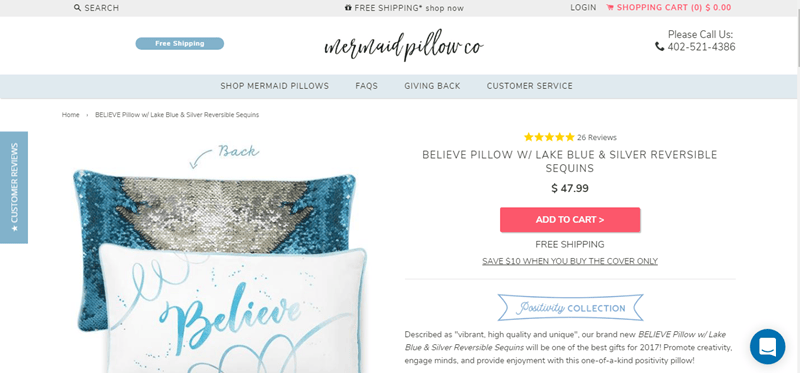 Mermaid Pillow Co Coupons