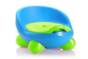 Bô vệ sinh cho bé Family Plaza (Xanh dương phối xanh chuối)