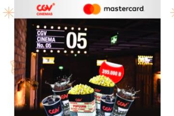 Master Combo gồm 4 vé xem phim + 2 CGV Combo với chỉ 395.000đ