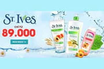 Kay.vn - Sữa tắm, sữa rửa mặt St.Ives chỉ từ 89.000đ