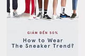 Sneaker nam cá tính - Sale up to 50%
