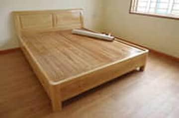 Giảm 300.000đ khi mua Giường gỗ sồi nga chạm KARO tại Vatgia.com