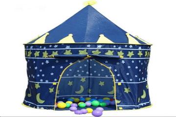 Lều chơi hoàng tử công chúa cho bé (Xanh) chỉ với 150.600 VND