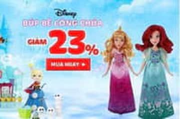 Giảm 23% khi mua búp bê công chúa  tại Kay.vn