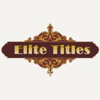 Elite Titles UK Coupons & Promo codes