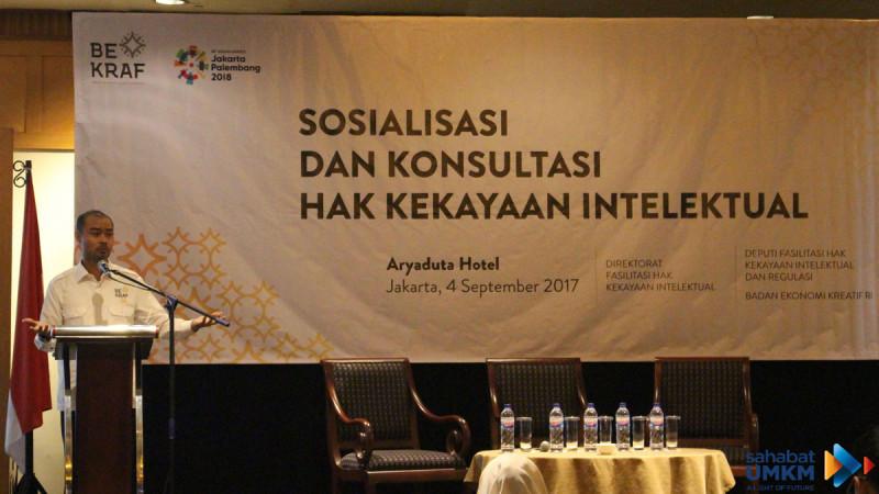 Ari Juliano Gema, Deputi Fasilitasi HKI dan Regulasi Bekraf RI