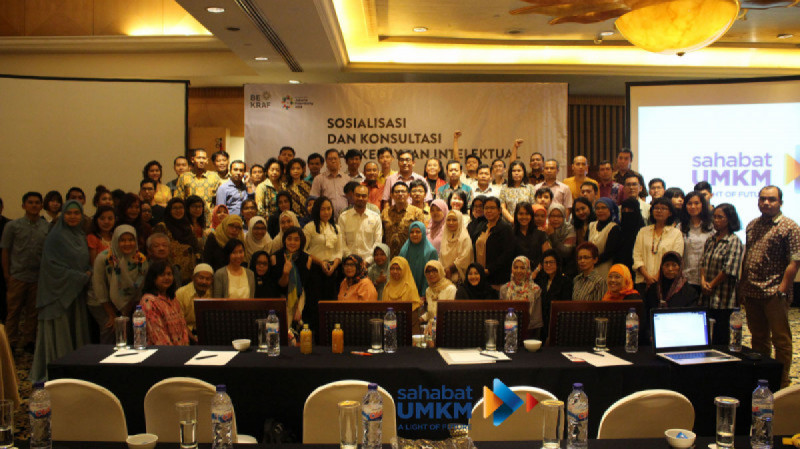 Deputi V Bekraf Bersama Komunitas Sahabat UMKM Jakarta