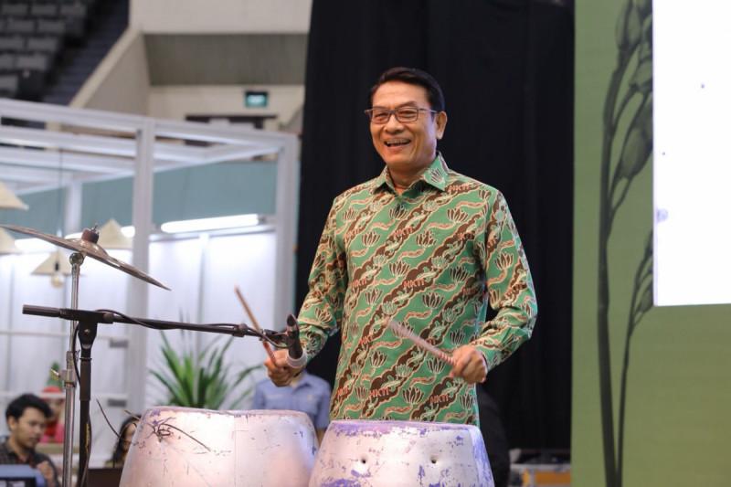 Ketua Umum HKTI Jend. TNI (Purn.) Dr. Moeldoko saat membuka Food Festival ASAFF 2018 di JCC (28/6/2018) dok.M-News
