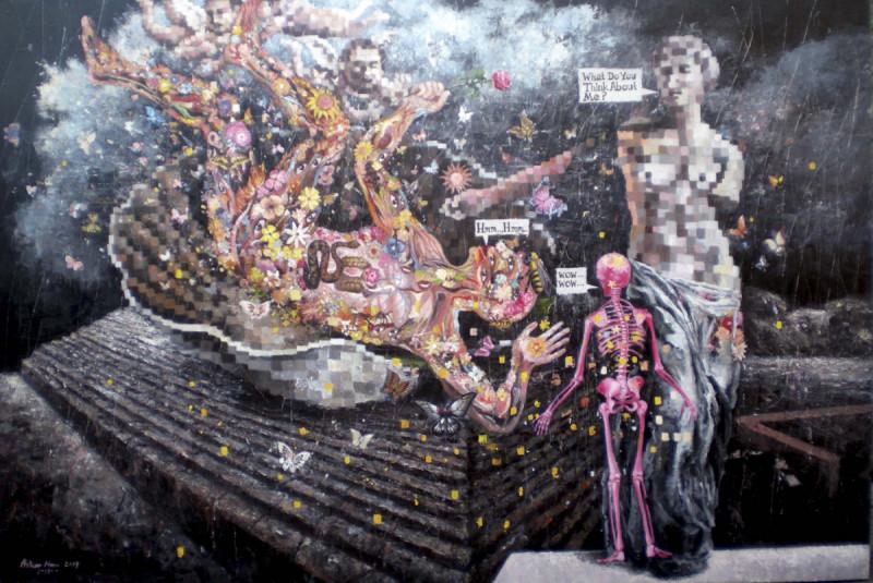 """from my eyes"", pameran tunggal Azhar Horo. Foto: Dok.Galnas"