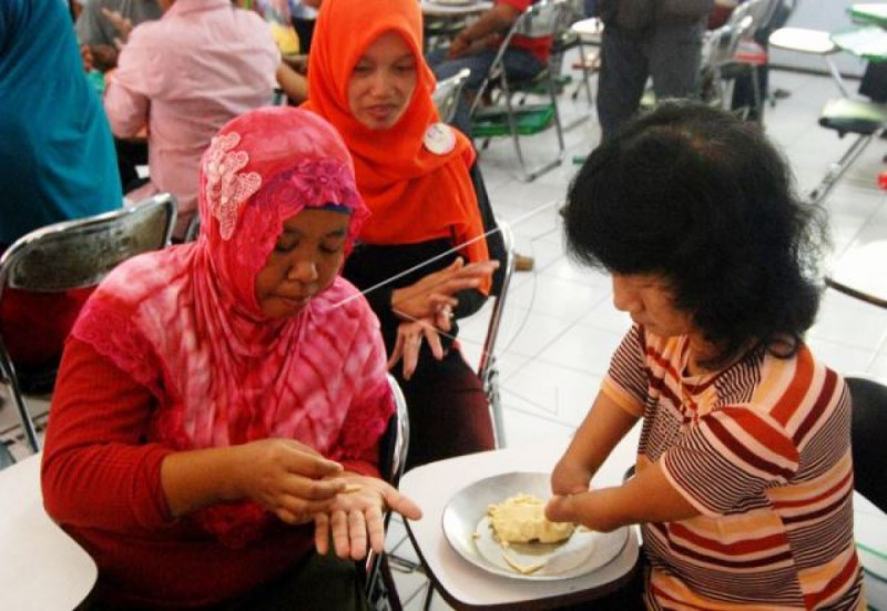 Ilustrasi Pelatihan bagi Penyandang Disabilitas. Foto: (doc/Antara)