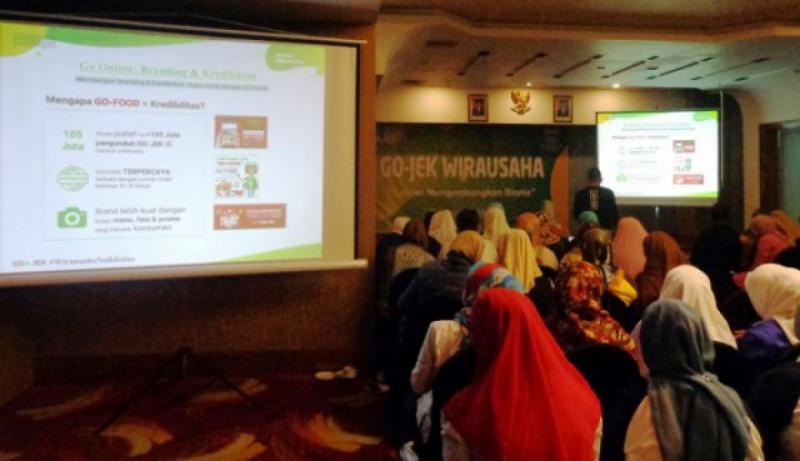 Suasana GO-JEK Wirausaha di Bandung, pada Kamis (25/10/18). Foto: (doc/Warta Ekonomi)