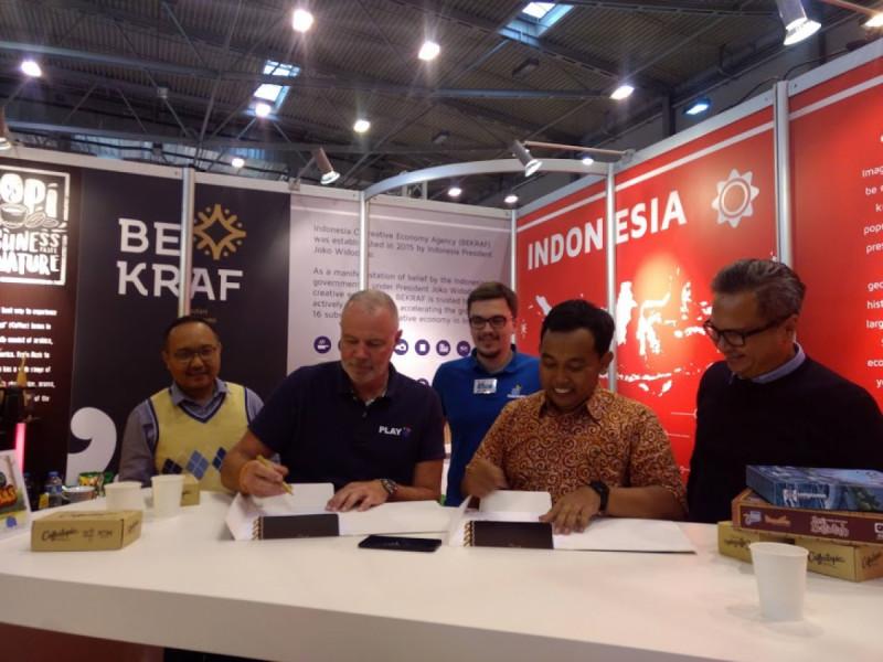 Board Game Indonesia Mendunia di Jerman (doc: Bekraf)