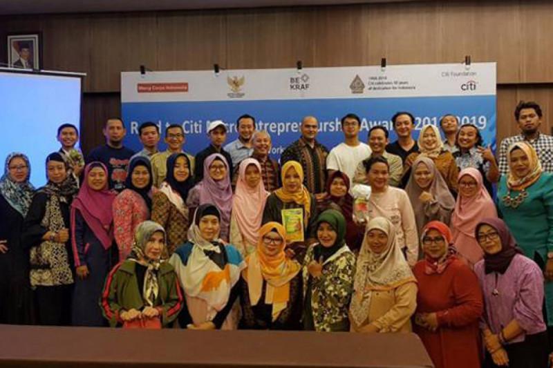 Citi Microentrepreneurship Awards, Ajang Penghargaan Bagi Pelaku UKM Bandung (Foto/Istimewa/Dok)