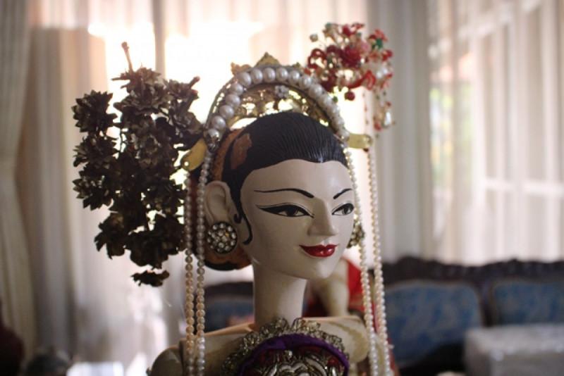 Wayang Golek karya Andi Purwono (Djawa Arts & Crafts). Foto: (doc/MNEWS).