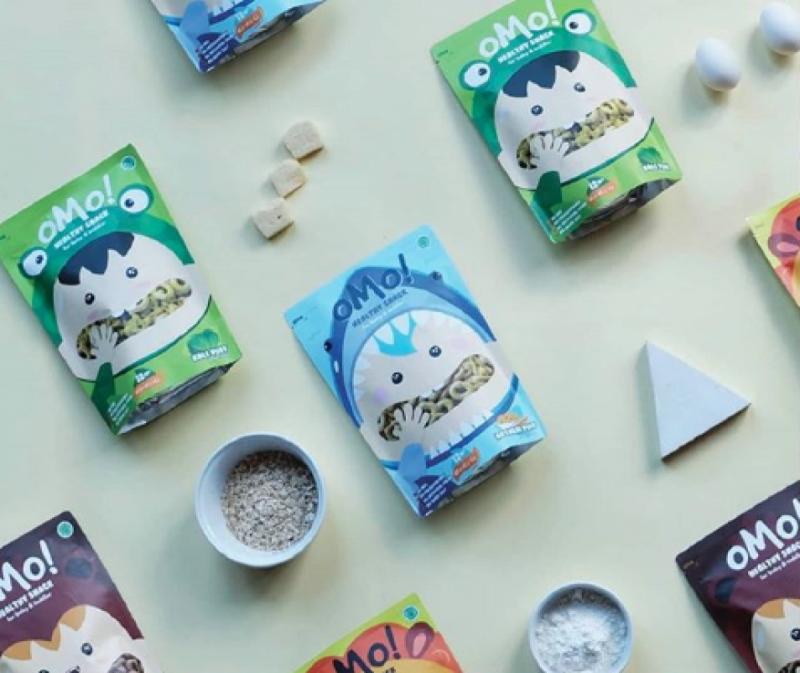 Omo! Healthy Snack, Pemenang Ajang Kreator Lokal Berbakat Makerfest 2018. (image: OMO! Healthy Snack)