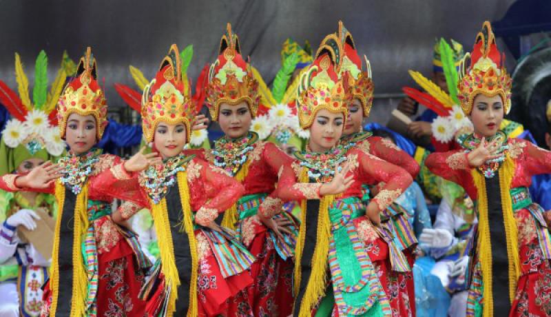Ilustrasi Kesenian Badrah & Kuntulan (image: Google)