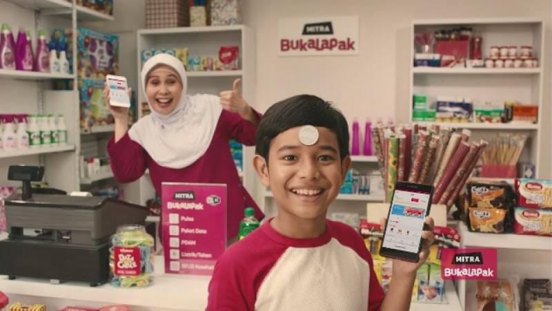 Ilustrasi Mitra Bukalapak. Foto: Youtube Bukalapak.