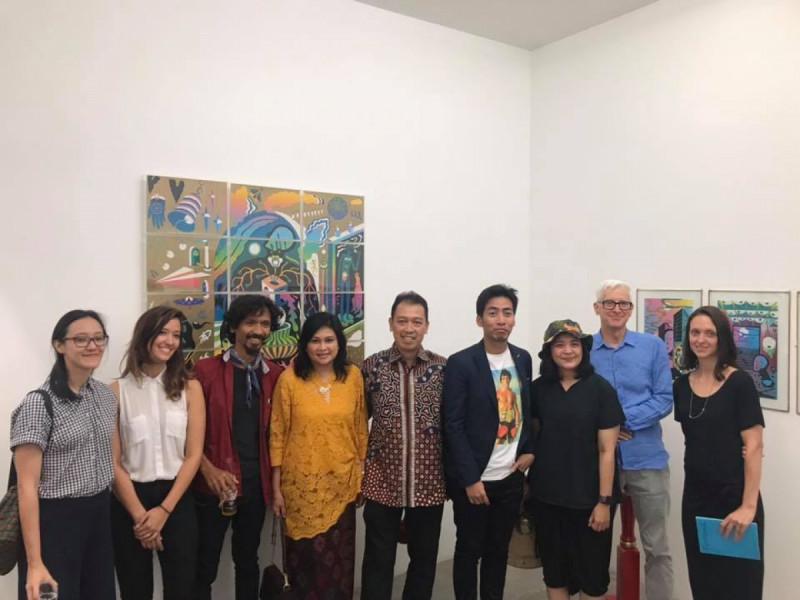 Karya 12 Seniman Muda Indonesia Dipamerkan di Australia (image: Tim Media (JH)/KJRI Sydney)